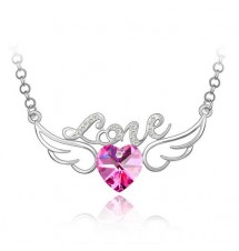 Collier love rose