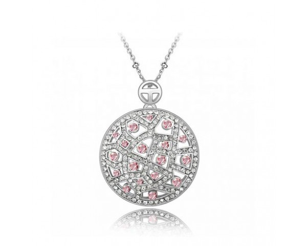 Collier moonlight rose