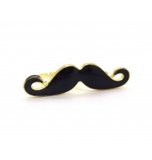 Bague moustache double