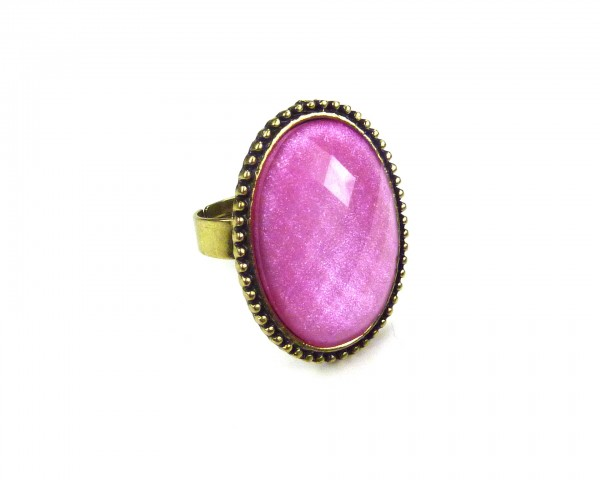 Bague girly rose