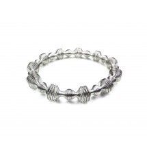 Bracelet girly argenté